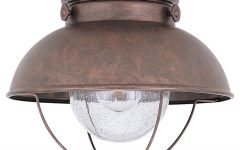 Round Outdoor Ceiling Lights
