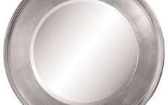 Silver Round Mirrors