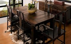 Small Rustic Look Dining Tables