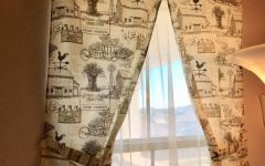 Rustic Kitchen Curtains