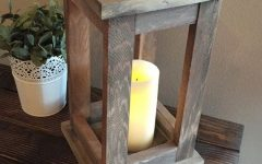 Outdoor Wood Lanterns