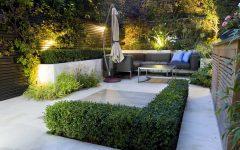 Rustic Outdoor Lighting for Modern Garden