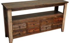 Sofa Table Drawers