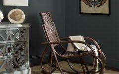 Bali Brown Rocking Chairs
