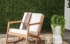 Teak Patio Rocking Chairs