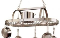 Pot Rack with Lights Fixtures