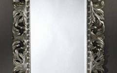 Silver Framed Wall Mirrors