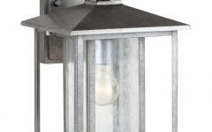 Pewter Outdoor Wall Lights