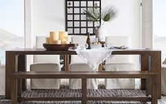 Shaw Dining Tables, English Brown