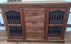 2-door/2-drawer Cast Jali Sideboards