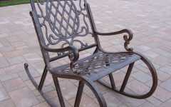 Aluminum Patio Rocking Chairs