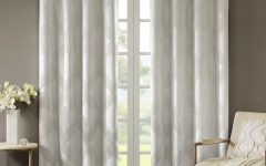 Sunsmart Abel Ogee Knitted Jacquard Total Blackout Curtain Panels
