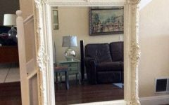 Large White Ornate Mirrors