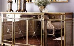 Glass Buffet Table Sideboards