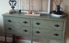 Sage Green Sideboards