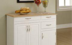 White Kitchen Sideboards