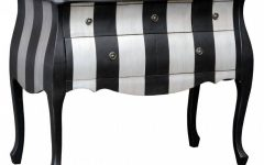 Black and Silver Sideboard