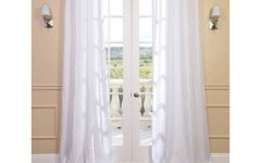 Signature French Linen Curtain Panels