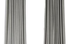 Signature Ivory Velvet Blackout Single Curtain Panels