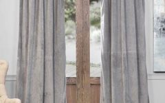 Signature Pinch-Pleated Blackout Solid Velvet Curtain Panels
