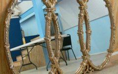 Triple Oval Mirrors