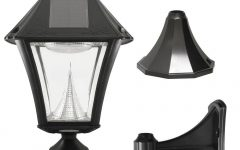 Contemporary Solar Driveway Lights at Home Depot