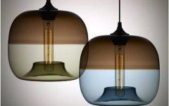 Contemporary Glass Pendant Lights