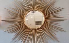 Bronze Starburst Mirrors