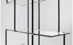 Suspended Glass Shelving