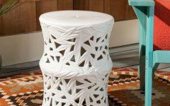 Swanson Ceramic Garden Stools