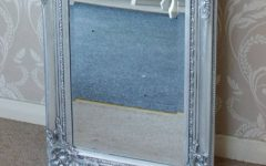 Tall Silver Mirrors