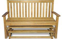 Teak Glider Benches