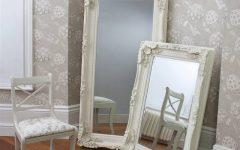 Cream Floor Standing Mirrors