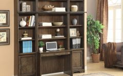 Bookcase Library Wall Unit