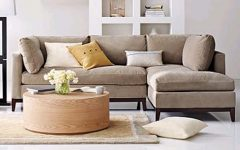 Crate and Barrel Sectional Sofas