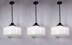 Milk Glass Pendant Light Fixtures