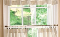 Tailored Valance and Tier Curtains