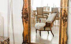 Big Vintage Mirrors