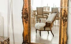 Vintage Large Mirrors