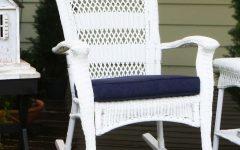 White Patio Rocking Chairs