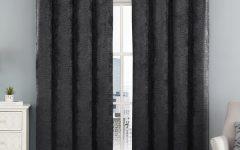 Chevron Blackout Grommet Curtain Panels