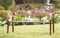 Tree of Life Iron Garden Benches