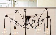 Bare Bulb Cluster Pendants