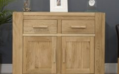 Solid Oak Small Sideboards