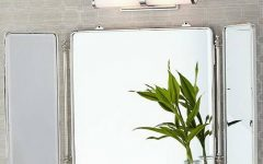 Tri Fold Bathroom Wall Mirrors