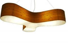Wood Veneer Lights Fixtures