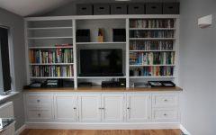 Tv in Bookcase