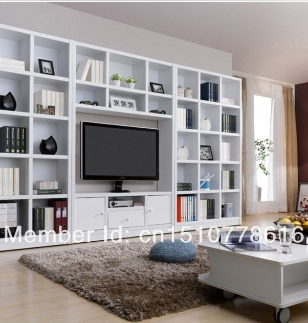 Bookcase With Tv
