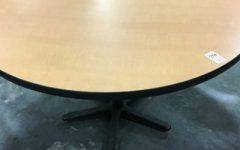 Collis Round Glass Breakroom Tables