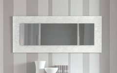 Contemporary White Mirrors